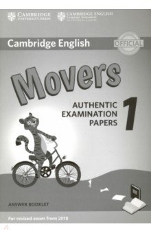 Cambridge English Movers 1 for Revised Exam from 2018 Answer Booklet cambridge english young learners 9 flyers student s book authentic examination papers from cambridge english language assessme