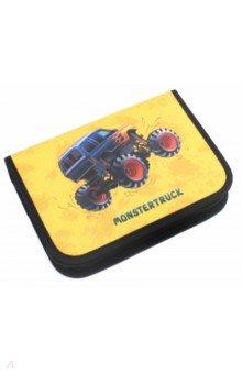 Пенал Monstertruck (с наполнением, 16 предметов) (49120-12)