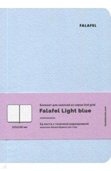 Блокнот 64 листа, А6, точка Light blue (471418)