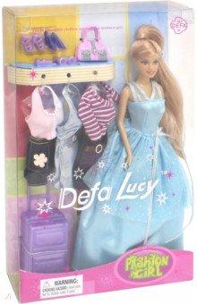 Кукла Defa Люси в вечернем платье с аксессуарами (8012 /Д19425) кукла defa lucy 8305a