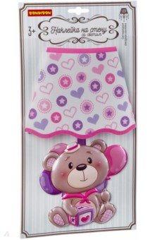 Купить Наклейка со светом Медвежонок , сенсорная (ВВ2864), BONDIBON, Наклейки детские