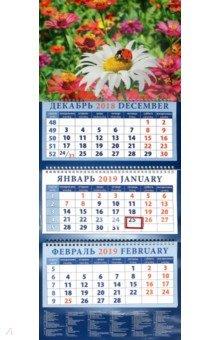 izmeritelplus.ru: Календарь 2019 Божья коровка на ромашке (14955).