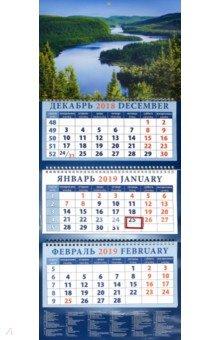 izmeritelplus.ru: Календарь 2019 Речные просторы (14957).
