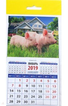 "Календарь 2019 ""Год поросенка. На даче"" (20924)"
