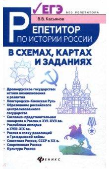 Репетитор по истории России в схемах, картах и заданиях