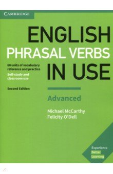 English Phrasal Verbs in Use Advanced 2 Edition Bk +ans use of english for advanced with answer key