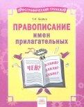 Русский язык. 2-4 классы. Правописание имен прилагательных. Тетрадь-практикум