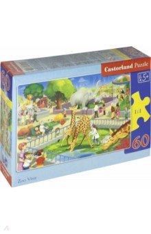 Купить Puzzle-60 MIDI Зоопарк (В-066155), Castorland, Пазлы (54-90 элементов)