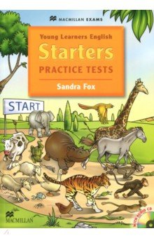 Young Learners English Starters Practice Tests (+CD) young learners english practice tests flyers dvd rom
