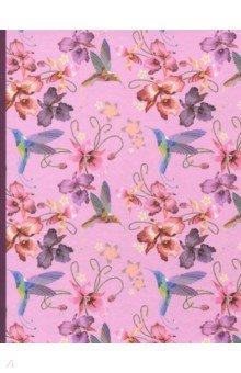 Тетрадь на кольцах Цветочное настроение (120 листов, клетка) (819027) тетрадь блочная 120 листов stila nature деревья а5 105640