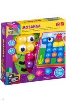 Купить Мозаика для малышей. 12 картинок-шаблонов (ВВ2868), BONDIBON