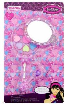 Купить Набор детской декоративной косметики Eva Moda. Косметичка-зеркальце (ВВ2269), BONDIBON, Все для грима