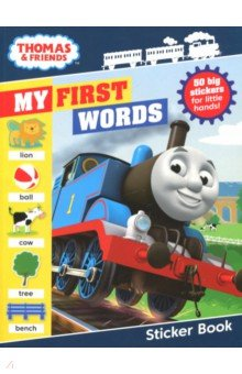 Thomas & Friends. My First Words Sticker Book