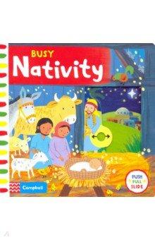 Купить BusyBooks Busy Nativity (board book), Macmillan, Первые книги малыша на английском языке