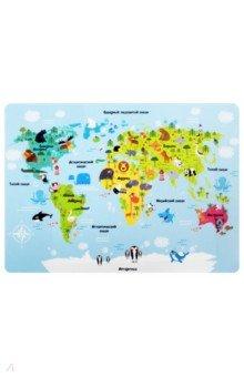 """Покрытие для письма А3 """"Карта мира"""" (227248)"""