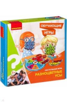 Купить Обучающая игра, настольная РАЗНОЦВЕТНЫЕ УСЫ (ВВ3154), BONDIBON, Обучающие игры