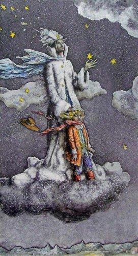Иллюстрация 1 из 26 для Снежная королева (+CD) - Ханс Андерсен | Лабиринт - книги. Источник: Лабиринт