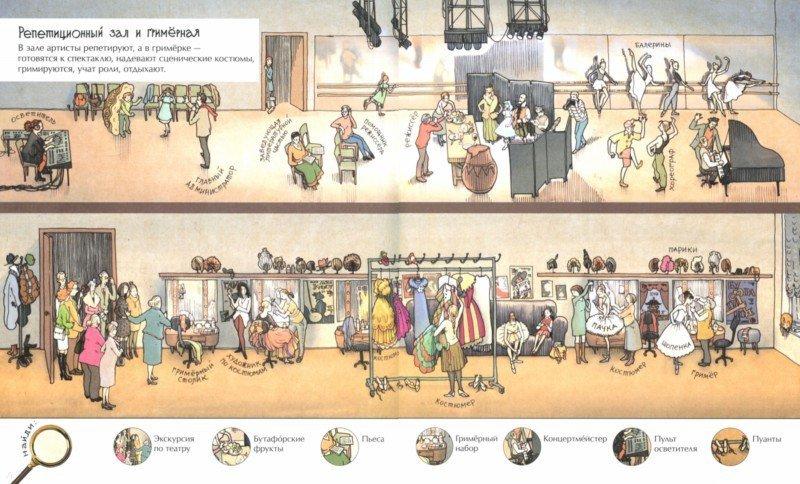 Иллюстрация 1 из 23 для В театре - Катерина Антонова   Лабиринт - книги. Источник: Лабиринт