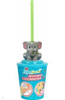 Звуковая соломинка (слон) (16003-1)