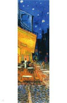 """Закладка с резинкой """"Ван Гог. Ночная терраса кафе"""""""