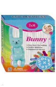 Купить Набор для создания игрушки из носков Кролик (68579), D&M, Изготовление мягкой игрушки