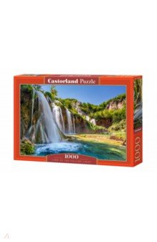 Купить Puzzle-1000 Водопад. Хорватия (C-104185), Castorland, Пазлы (1000 элементов)