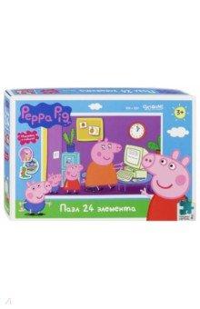 Купить Peppa Pig. Пазл-24 Работа Мамы Свинки (04287), Оригами, Пазлы (15-50 элементов)