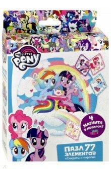 Купить Пазл-77 My little Pony. Секреты и пироги (04368), Оригами, Пазлы (54-90 элементов)