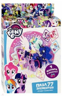 Купить Пазл-77 My little Pony. Совет Селестии (04370), Оригами, Пазлы (54-90 элементов)