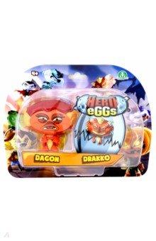 Купить Игровые фигурки Дракон и Монстр лагуны (04148), Hero Eggs, Герои мультфильмов