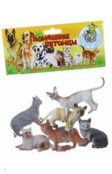 """Набор животных """"Кошки"""" 6 штук (ВВ1621)"""