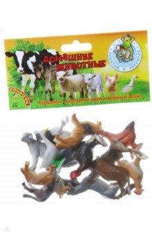 Купить Набор животных Домашние животные и птицы 12 штук (ВВ1633), BONDIBON, Животный мир