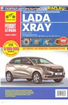 Книга ВАЗ Lada XRAY: руководство по эксплуатации, техническому обслуживанию и ремонту