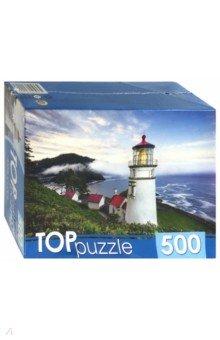 Купить TOPpuzzle-500 Маяк у моря (ГИТП500-4209), Рыжий Кот, Пазлы (400-600 элементов)