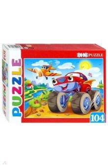 """Artpuzzle-104 """"Суперджип и самолет"""" (ПА-4537)"""