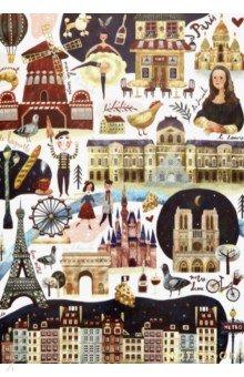 """Тетрадь """"Paris"""" (24 листов, А5, в точку, кремовые страницы) (1100506)"""