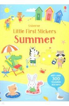 Купить Little First Stickers: Summer, Usborne, Книги для детского досуга на английском языке
