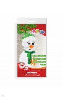 Купить Набор для творчества Новогодняя игрушка. Снеговик , Feltrica, Изготовление мягкой игрушки