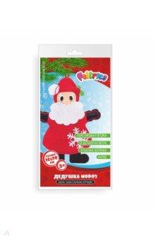 Купить Набор для творчества Новогодняя игрушка Дед Мороз фетр, Feltrica, Изготовление мягкой игрушки