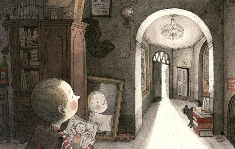 Иллюстрация 5 из 41 для Мальчик и дом - Майя Кастелиц | Лабиринт - книги. Источник: Лабиринт