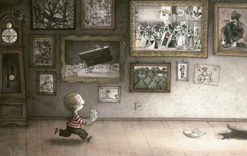 Иллюстрация 8 из 41 для Мальчик и дом - Майя Кастелиц | Лабиринт - книги. Источник: Лабиринт