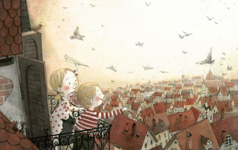 Иллюстрация 11 из 41 для Мальчик и дом - Майя Кастелиц | Лабиринт - книги. Источник: Лабиринт