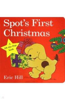 Купить Spot's First Christmas, Penguin, Первые книги малыша на английском языке