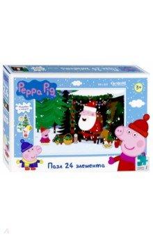Купить Peppa Pig. Пазл-24 В гостях у волшебника (04304), Оригами, Пазлы (15-50 элементов)