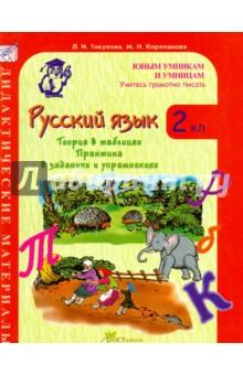 Русский язык. 2 класс. Учитесь грамотно писать. Дидактические материалы