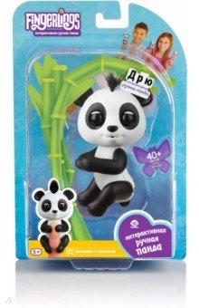 Купить Интерактивная панда Дрю, 12 см (3564), Fingerlings, Другие виды игрушек