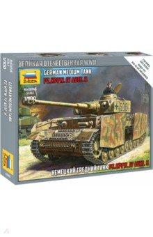 Купить Немецкий средний танк Т-4Н, Звезда, Бронетехника и военные автомобили (1:100)