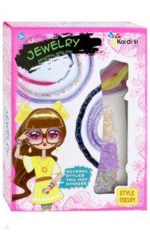 Купить Набор для творчества Создаем браслеты (KDS-011), Junfa, Украшения из бисера, бусин, страз и ниток
