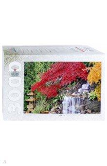 Купить Step Puzzle-3000 Водопад в японском саду (85019), Степ Пазл, Пазлы (2000 элементов и более)