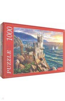 Купить Puzzle-1000 КРЫМ. ЛАСТОЧКИНО ГНЕЗДО (Ф1000-6806), Рыжий Кот, Пазлы (1000 элементов)